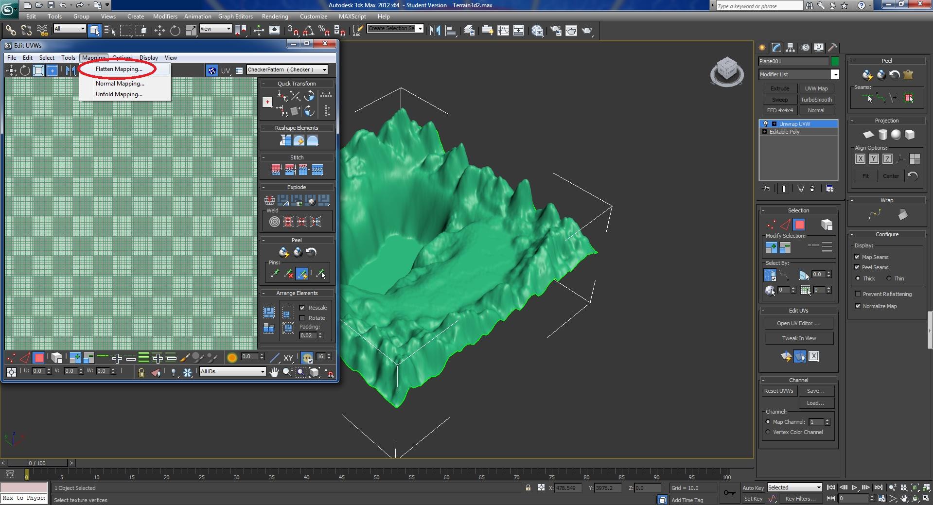 roblox studio how to change terrain colour
