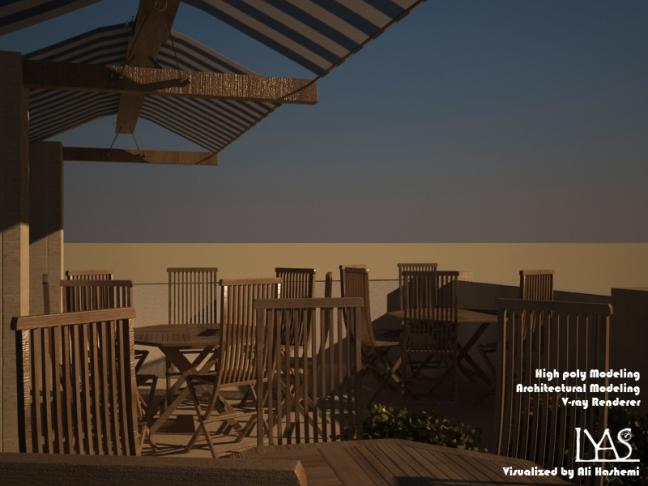 first floor terrace interor design lyasstudio